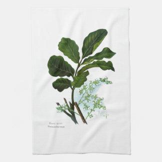 Vintage Blumen der Wissenschafts-NZ - Kohe Kohe Handtuch