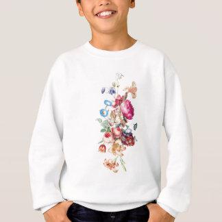 Vintage Blumenblumenstrauß-Illustration Sweatshirt