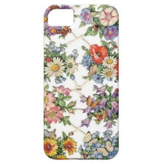 Vintage BlumenCase-Mate iPhone5 kaum dort iPhone 5 Schutzhülle
