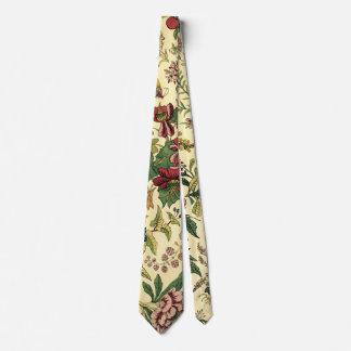 Vintage Blumentapisserie-Muster-Krawatte Individuelle Krawatten