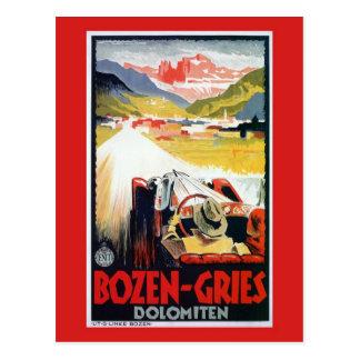 Vintage Bozen Gries italienische Postkarte