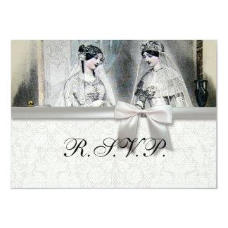 Vintage Brautbraut Antiken Weiu0026#223;e Hochzeit 11,4 X 15