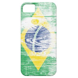 Vintage Brazil National Flag White iPhone 5 Case