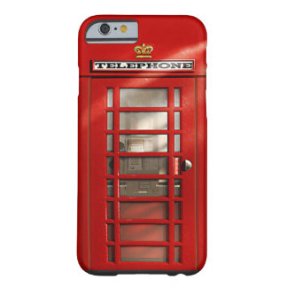 Vintage britische rote barely there iPhone 6 hülle