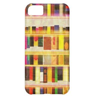 Vintage Bücher des Bücherregal-n iPhone 5C Hülle