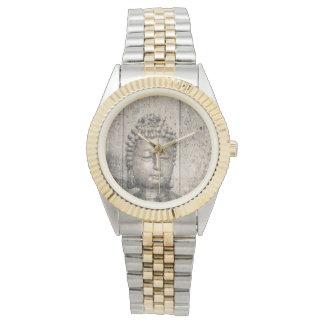 Vintage Buddha-Art Armbanduhr