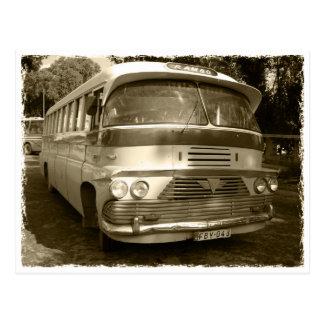 Vintage Bus at Malta Postkarte