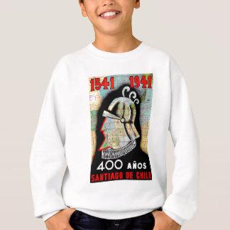 Vintage Chile-Santiago-Reise Sweatshirt