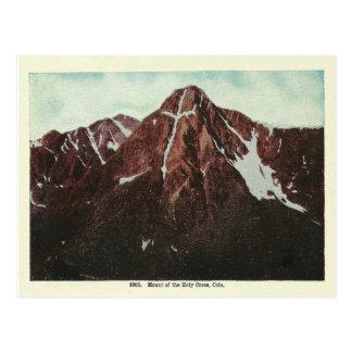 Vintage Colorado-Berge Postkarte