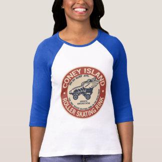 Vintage Coney-Insel-Rollen-Eisbahn T-Shirt