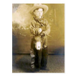 Vintage Cowboys 18 Postkarte
