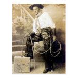 Vintage Cowboys 20 Postkarten