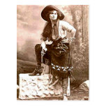 Vintage Cowboys 21 Postkarte