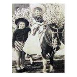 Vintage Cowboys 25 Postkarten