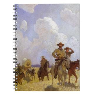 Vintage Cowboys, die Parkman Ausstattung durch NC Notizblock