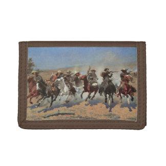 Vintage Cowboys, ein Schlag für Bauholz durch