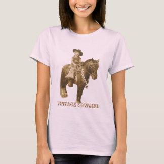 VINTAGE COWGIRL-DAMEN-SPITZE T-Shirt