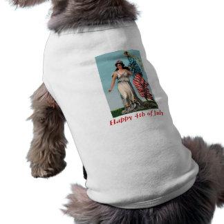 Vintage Dame Liberty T-Shirt
