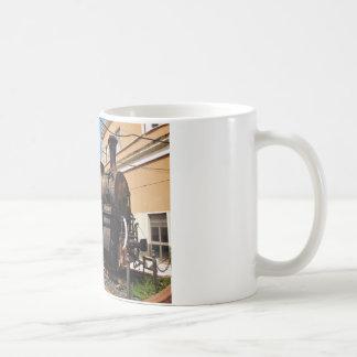 Vintage Dampf-Lokomotive Kaffeetasse