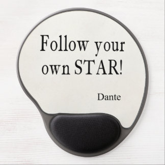 Vintage Dante Zitate folgen Ihrem eigenen Stern-Zi