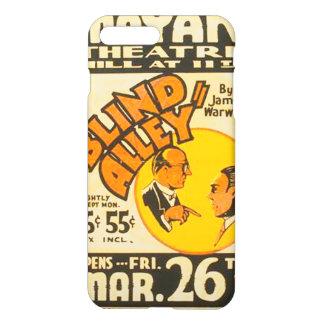 """Vintage darstellende Künste """"blinde Gasse"""" WPA iPhone 8 Plus/7 Plus Hülle"""