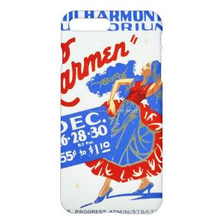 """Vintage darstellende Künste WPA """"Carmens"""" iPhone 8 Plus/7 Plus Hülle"""
