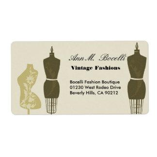 Vintage Designer-Moden u. Handwerks-Geschäft