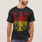 Vintage deutsche Flagge von Deutschland-Adler T-Shirt