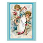 """""""Vintage deutsche Geburtstags-Karte """" Postkarte"""