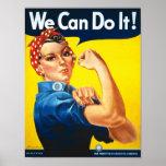 Vintage die Recht-Anzeige der Frauen Plakate