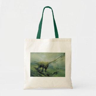 Vintage Dinosaurier, Brachiosaurus-Schwimmen im Tragetasche