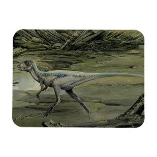 Vintage Dinosaurier, ein kreidiges Hypsilophodon Magnet