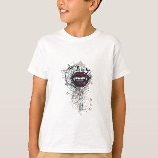 Vintage Dracula-Lippen T-Shirt