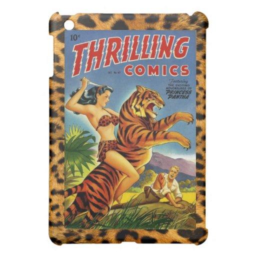 Vintage Dschungel-Comic-Abdeckung Hülle Für iPad Mini