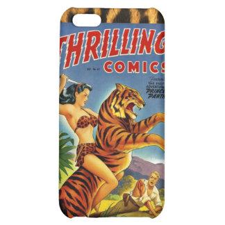 Vintage Dschungel-Comic-Abdeckung Hüllen Für iPhone 5C