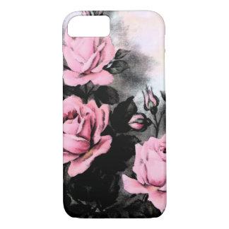 Vintage dunkle Rosen iPhone 8/7 Hülle