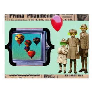 Vintage Einklebebuch-Postkarte Postkarte