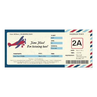Vintage 10,2 X 23,5 Cm Einladungskarte