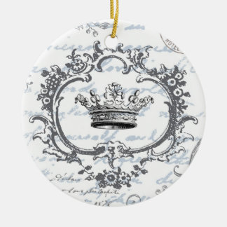 Vintage elegante Kronen… Verzierung Ornamente
