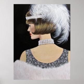 Vintage Eleganz, Plakat