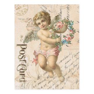 Vintage Engel Valentinepostkarte Postkarte