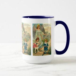 Vintage Engels-Feiertags-Kaffee-Tasse Tasse
