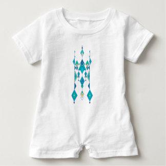 Vintage ethnische Stammes- aztekische Verzierung Baby Strampler
