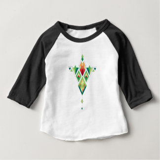 Vintage ethnische Stammes- aztekische Verzierung Baby T-shirt