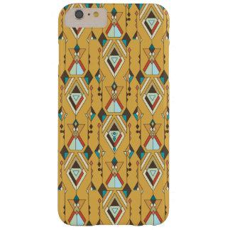 Vintage ethnische Stammes- aztekische Verzierung Barely There iPhone 6 Plus Hülle