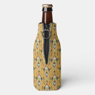 Vintage ethnische Stammes- aztekische Verzierung Flaschenkühler