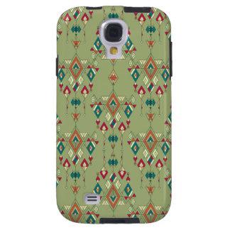 Vintage ethnische Stammes- aztekische Verzierung Galaxy S4 Hülle