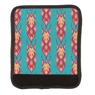 Vintage ethnische Stammes- aztekische Verzierung Gepäckgriff Marker
