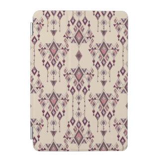 Vintage ethnische Stammes- aztekische Verzierung iPad Mini Cover