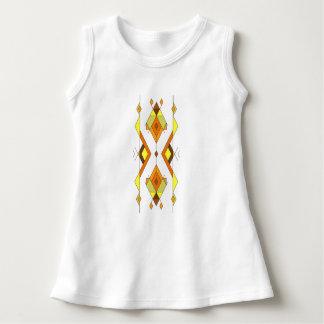 Vintage ethnische Stammes- aztekische Verzierung Kleid